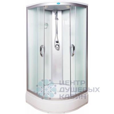 Душевая кабина Водный мир ВМ-8825-80-W